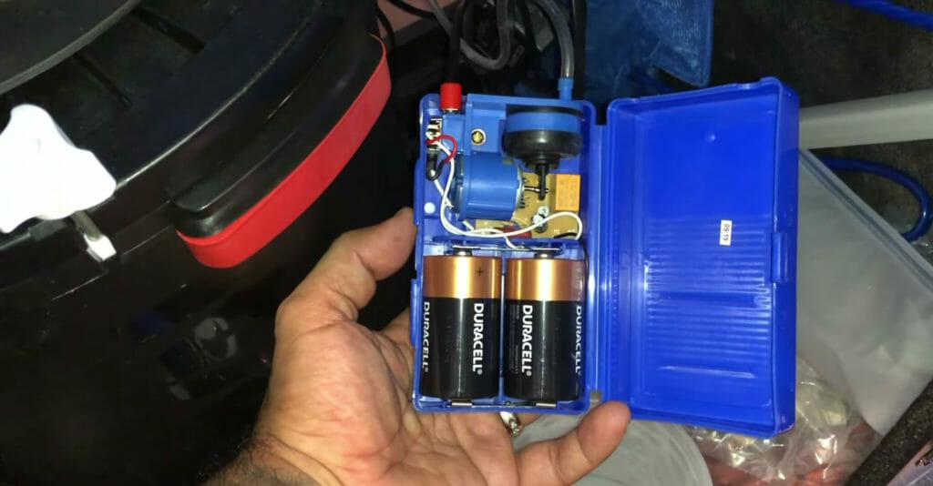 Aquarium Battery Backup